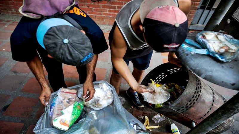 Venezuela sumergida en la miseria