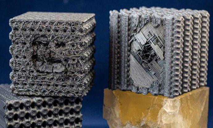 Cubos impresos en 3D a prueba de balas