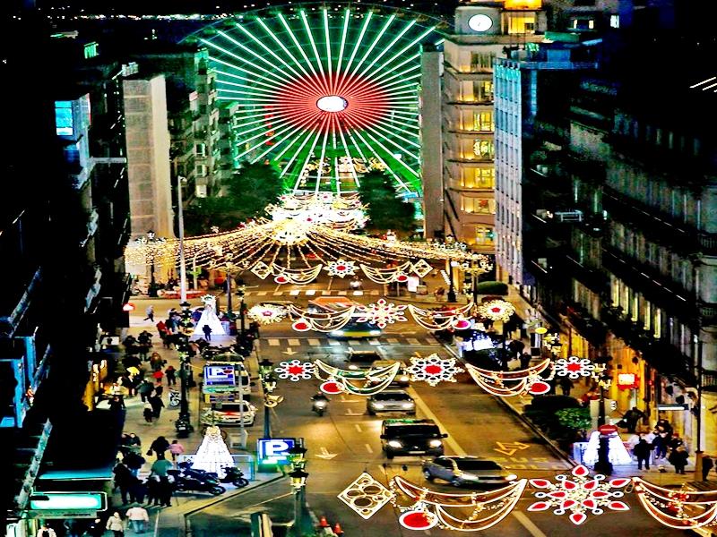 La gran Noria de Vigo en esta Navidad