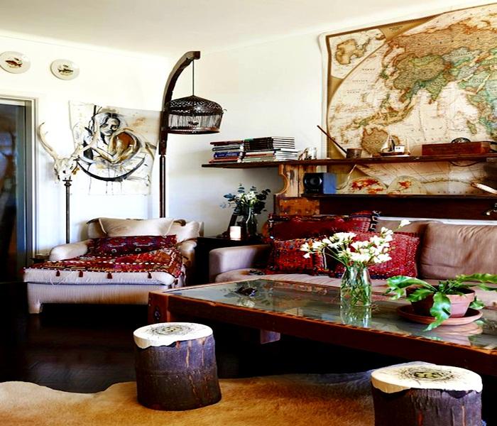 Los tapetes pueden subir de nivel en la decoración