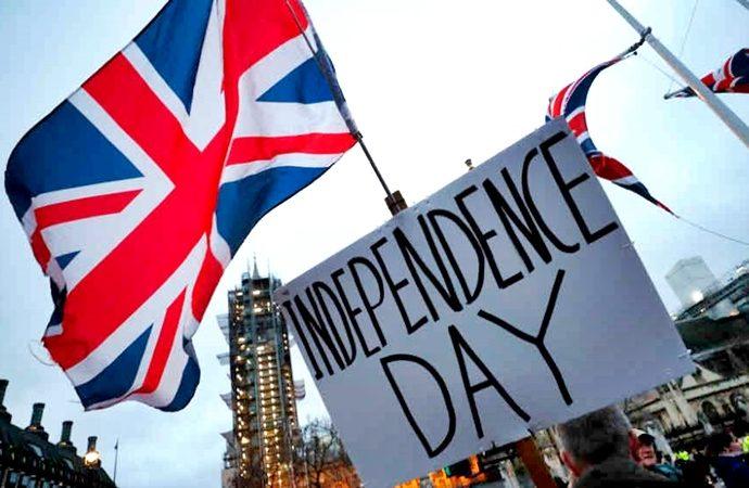 A la media noche finalizando el 31 de enero 2020 se llevará efecto el Brexit