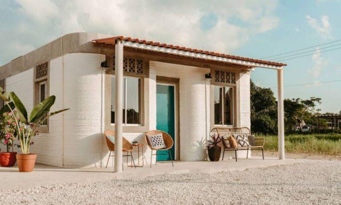 Ya están las primeras casas impresas en 3D a México en 2020