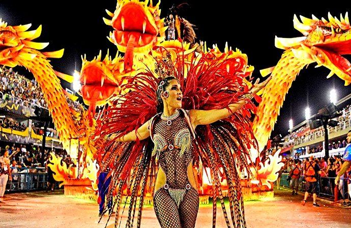 Protestas en Carnaval 2020 en Brasil