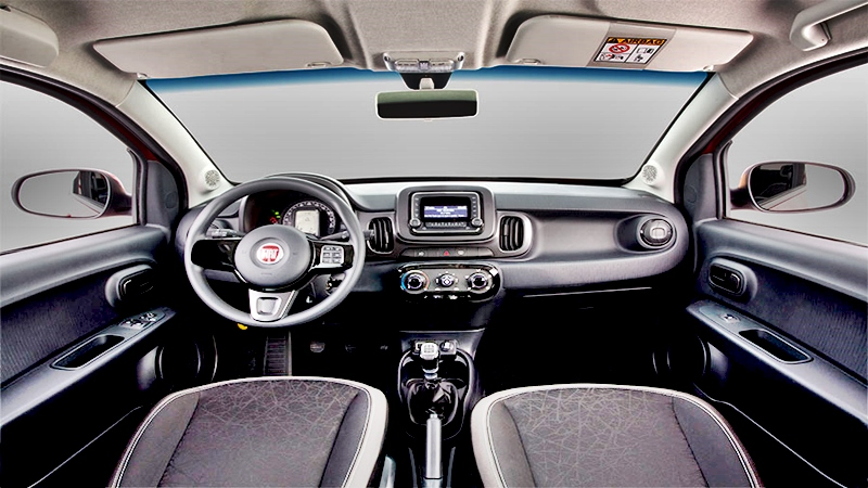 Fiat Mobi con alta tecnología