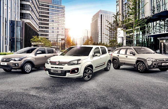 Fiat se destaca este 2020 con tres modelos