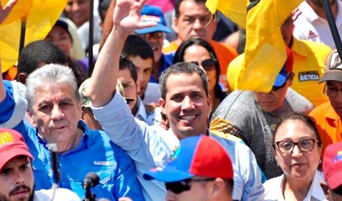 Arremetieron contra Juan Guaidó y su gente este fin de semana en Lara