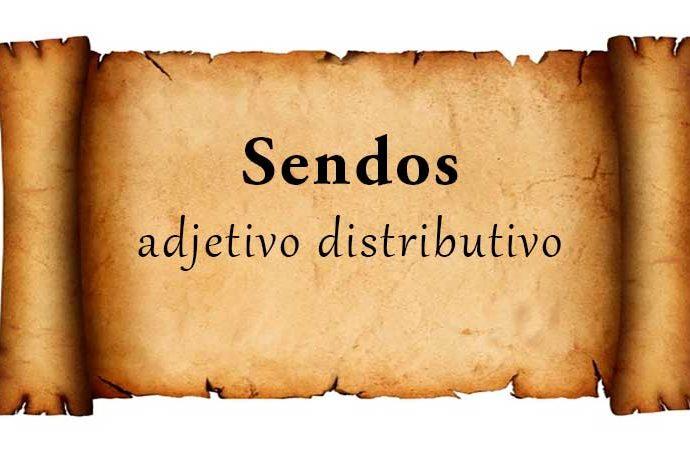 sendos gramática española