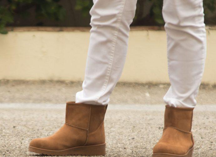 botines marron para mujer