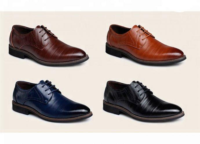 zapatos de vestir diversos colores para hombre